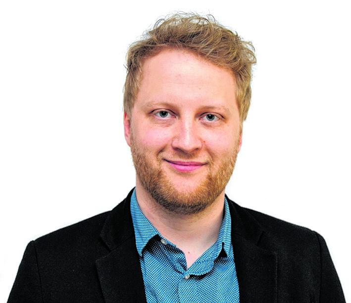 07.04.2017, Stralsund, Porträt OZ Mitarbeiter. Im Bild Alexander Müller.  Foto: Frank Söllner